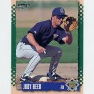 1995 Score Baseball #176 Jody Reed - Milwaukee Brewers