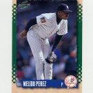 1995 Score Baseball #144 Melido Perez - New York Yankees