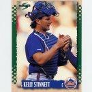 1995 Score Baseball #137 Kelly Stinnett - New York Mets