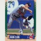 1995 Score Baseball #132 Mark Clark - Cleveland Indians