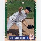 1995 Score Baseball #092 Scott Kamieniecki - New York Yankees