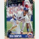1995 Score Baseball #081 Ryan Thompson - New York Mets