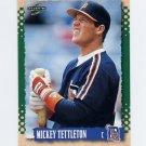 1995 Score Baseball #078 Mickey Tettleton - Detroit Tigers