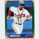 1995 Score Baseball #059 Roberto Kelly - Atlanta Braves