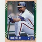 1995 Score Baseball #049 Tony Phillips - Detroit Tigers