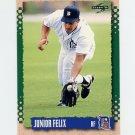 1995 Score Baseball #018 Junior Felix - Detroit Tigers
