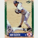 1995 Score Baseball #008 John Valentin - Boston Red Sox