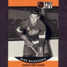 1990-91 Pro Set Hockey #652 Alex Delvecchio CPL - Detroit Red Wings