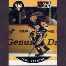 1990-91 Pro Set Hockey #633 Paul Stanton RC - Pittsburgh Penguins