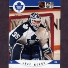 1990-91 Pro Set Hockey #540 Jeff Reese RC - Toronto Maple Leafs