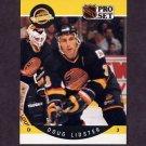 1990-91 Pro Set Hockey #298 Doug Lidster -  Vancouver Canucks