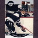 1990-91 Pro Set Hockey #127 Tomas Sandstrom - Los Angeles Kings