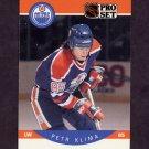 1990-91 Pro Set Hockey #086 Petr Klima - Edmonton Oilers