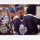 1991-92 Pro Set Platinum Hockey #119 Mike Krushelnyski - Toronto Maple Leafs