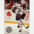 1991-92 Pro Set Platinum Hockey #013 Mike Ramsey - Buffalo Sabres