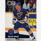 1991-92 Pro Set French Hockey #326 Brett Hull PS-POY - St. Louis Blues
