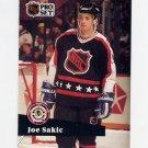 1991-92 Pro Set French Hockey #315 Joe Sakic AS - Quebec Nordiques