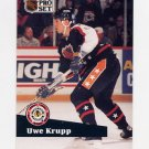 1991-92 Pro Set French Hockey #301 Uwe Krupp AS - Buffalo Sabres