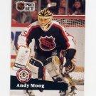 1991-92 Pro Set French Hockey #299 Andy Moog AS - Boston Bruins