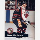 1991-92 Pro Set French Hockey #297 Dave Christian AS - Boston Bruins