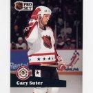1991-92 Pro Set French Hockey #276 Gary Suter AS - Calgary Flames