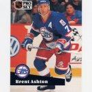 1991-92 Pro Set French Hockey #272 Brent Ashton - Winnipeg Jets
