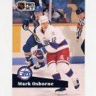 1991-92 Pro Set French Hockey #270 Mark Osborne - Winnipeg Jets