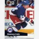 1991-92 Pro Set French Hockey #263 Danton Cole - Winnipeg Jets