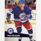 1991-92 Pro Set French Hockey #262 Pat Elynuik - Winnipeg Jets