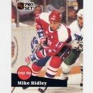 1991-92 Pro Set French Hockey #254 Mike Ridley - Washington Capitals