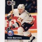 1991-92 Pro Set French Hockey #244 Tom Kurvers - Vancouver Canucks