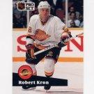 1991-92 Pro Set French Hockey #239 Robert Kron - Vancouver Canucks