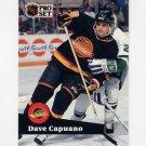1991-92 Pro Set French Hockey #237 Dave Capuano - Vancouver Canucks