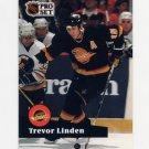 1991-92 Pro Set French Hockey #236 Trevor Linden - Vancouver Canucks