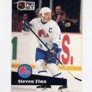 1991-92 Pro Set French Hockey #204 Steven Finn - Quebec Nordiques