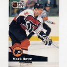 1991-92 Pro Set French Hockey #182 Mark Howe - Philadelphia Flyers