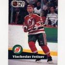 1991-92 Pro Set French Hockey #142 Viacheslav Fetisov - New Jersey Devils