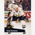 1991-92 Pro Set French Hockey #112 Neal Broten - Minnesota North Stars