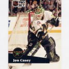 1991-92 Pro Set French Hockey #111 Jon Casey - Minnesota North Stars