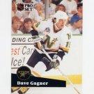 1991-92 Pro Set French Hockey #108 Dave Gagner - Minnesota North Stars