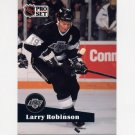 1991-92 Pro Set French Hockey #104 Larry Robinson - Los Angeles Kings