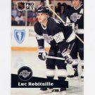 1991-92 Pro Set French Hockey #095 Luc Robitaille - Los Angeles Kings