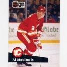 1991-92 Pro Set French Hockey #033 Al MacInnis - Calgary Flames