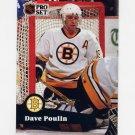 1991-92 Pro Set French Hockey #012 Dave Poulin - Boston Bruins