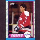 1989-90 Topps Hockey #146 Kevin Hatcher - Washington Capitals