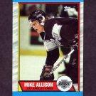 1989-90 Topps Hockey #141 Mike Allison - Los Angeles Kings