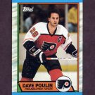 1989-90 Topps Hockey #115 Dave Poulin - Philadelphia Flyers