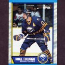 1989-90 Topps Hockey #078 Mike Foligno - Buffalo Sabres