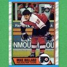 1989-90 Topps Hockey #021 Mike Bullard - Philadelphia Flyers