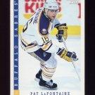 1993-94 Score Hockey #345 Pat LaFontaine - Buffalo Sabres